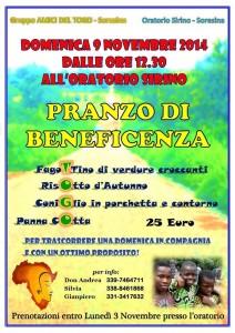 Evento Amici del Togo Soresina