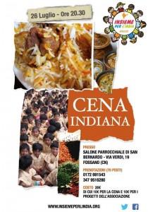 Evento Cena Insieme per l'India