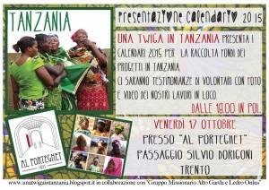 Evento Una twiga in tanzania