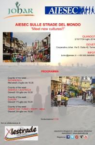 Locandina evento AIESEC
