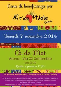 evento Africa Milele Onlus