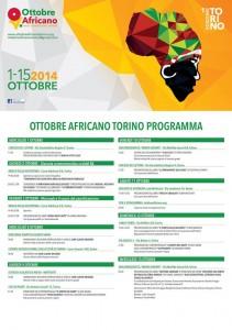 evento ottobre africano