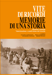 Copertina Vite di ricordi, Memorie di una storia con alette