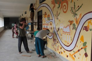 Laboratorio pittura Alexia