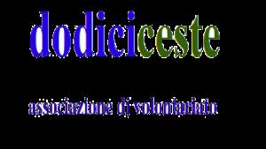 Logo dodiciceste Onlus copia